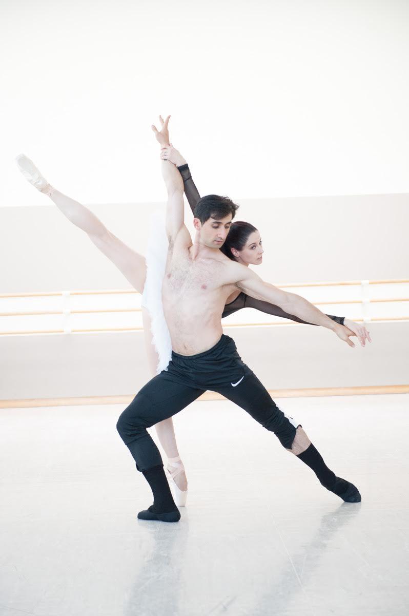 Vanessa Zahorian and Davit Karapetian. Photo by Lauri Levenfeld.