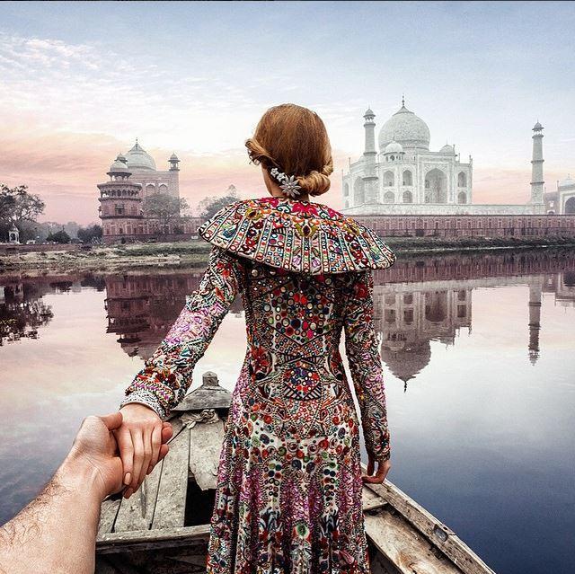 Murad Osmann - India @muradosmann Instagram