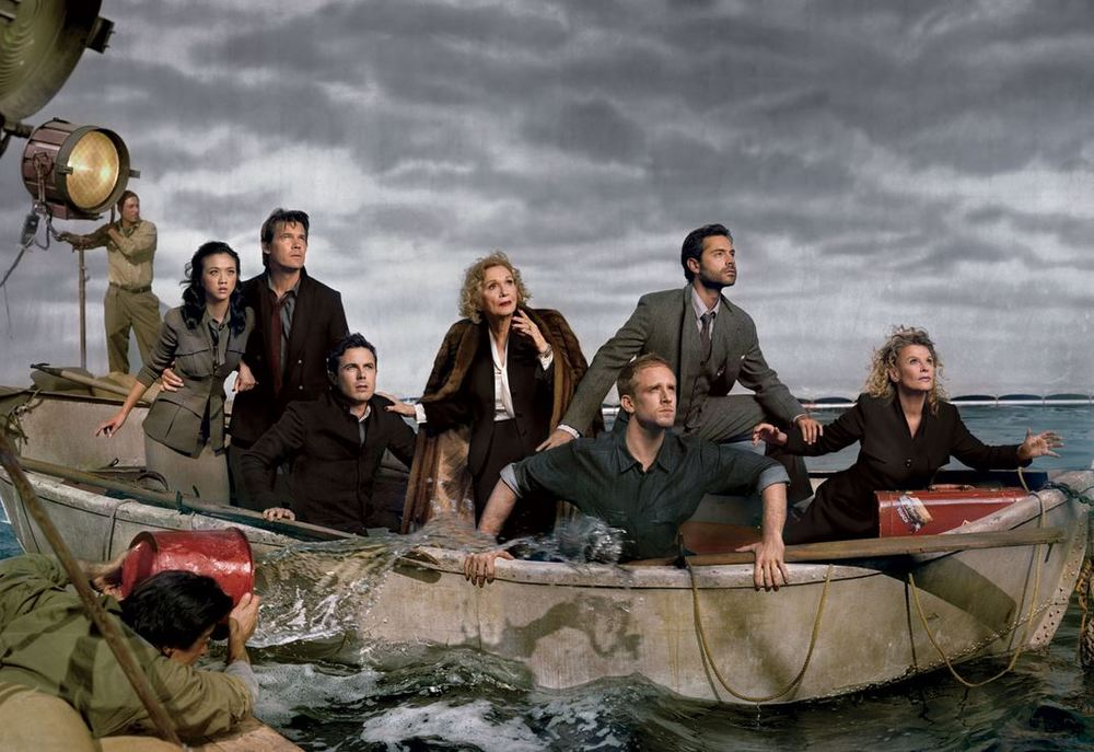 Lifeboat, 1944 From left: Tang Wei, Josh Brolin, Casey Affleck, Eva Marie Saint, Ben Foster, Omar Metwally, and Julie Christie. Photograph by Mark Seliger.