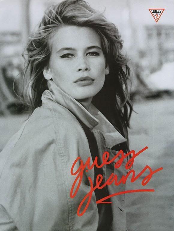 Nineties supermodel Cl...