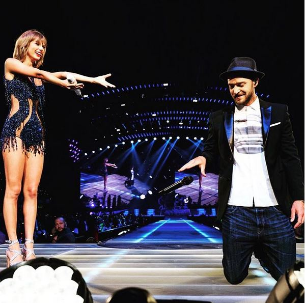 Justin Timberlake @taylorswift Instagram