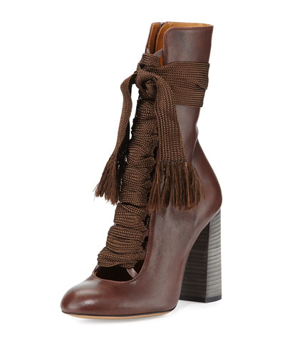 CLICK IMAGE TO SHOP CHLOE LACE UP BOOTS