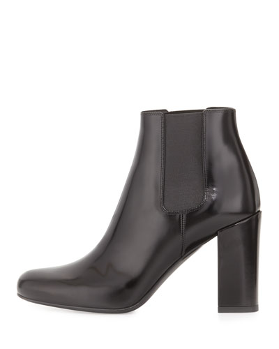 CLICK IMAGE TO SHOP SAINT LAURENT GORED LEATHER BOOTS