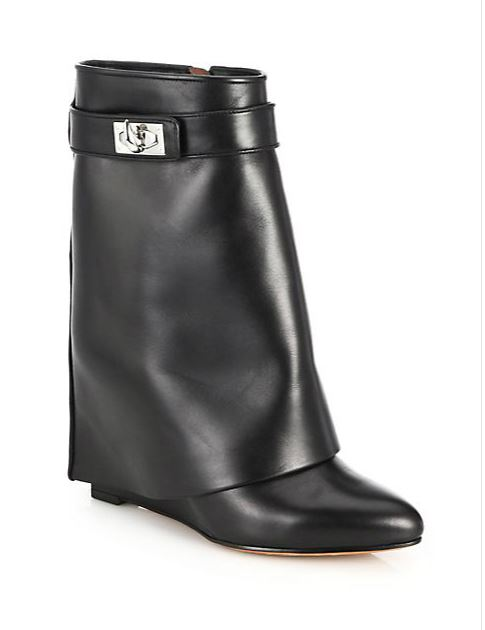 CLICK IMAGE TO SHOP GIVENCHY SHARK LOCK LEATHER BOOTS