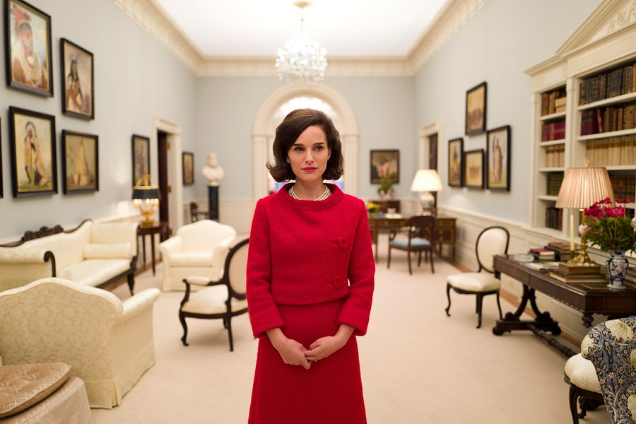 the first official photo from Pablo Larraín's Jackie