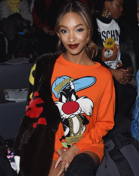 Jourdan Front Row at Jeremy Scott