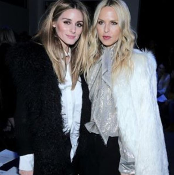 Olivia Palermo and Rachel Zoe at Altuzzara