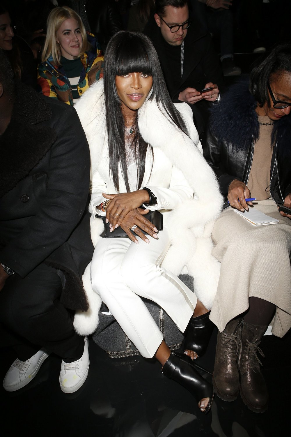 Naomi Campbell at Fenty x Puma