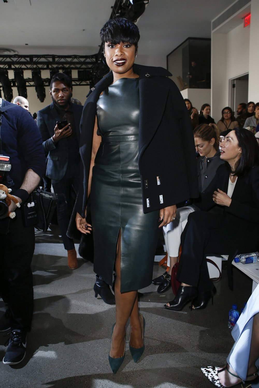 Jennifer Hudson at Jason Wu