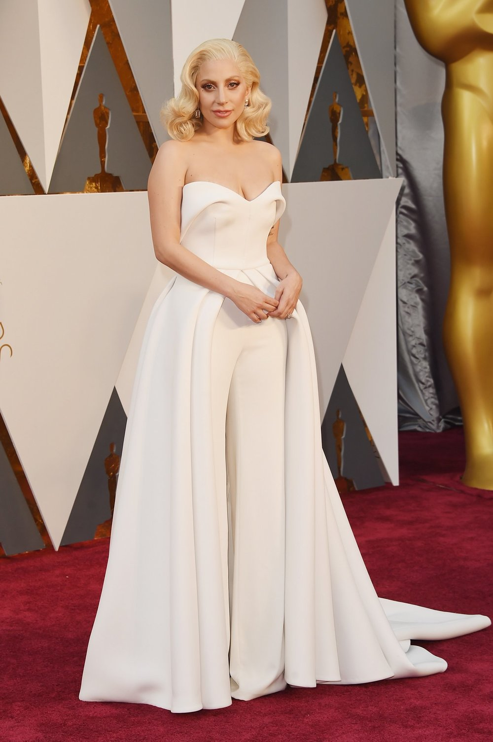 We love Brandon Maxwell and Lady Gaga, but this ensemble didn't quiet work for Gaga.