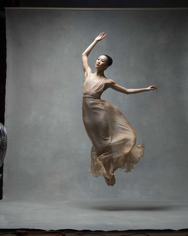 "PeiJu Chien-Pott Principal dancer, Martha Graham Dance Company, with dancer Lloyd Mayor ""My happiness is seeing my husband and daughter happy and healthy and also still be able to do the thing I love the most - dancing!"""