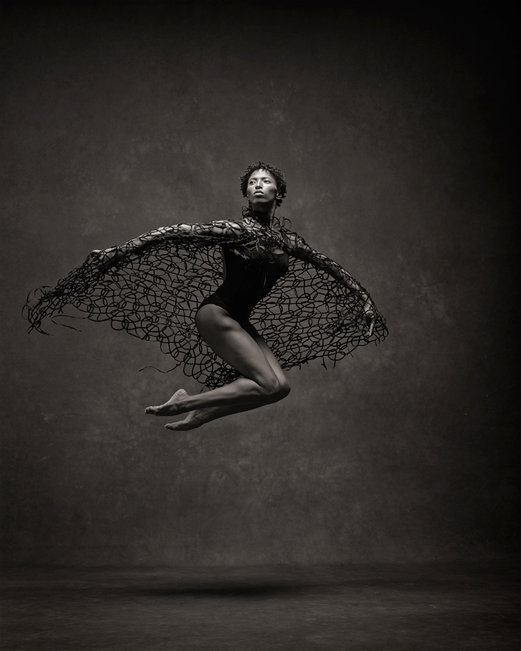 "Jacqueline Green Alvin Ailey American Dance Theatre ""If I could be any animal, I would chose a bird.  They experience lit from two different points of view: above or below us.  I want to be able to fly and also be grounded."""