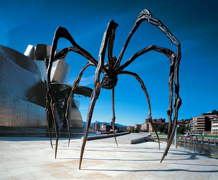 Like a creature escaping from a nightmare, or a larger-than-life embodiment of a secret childhood fear, the giant spider Maman casts a powerful physical and psychological shadow. Over 30 feet high, the mammoth sculpture is one of the most ambitious undertakings in the long career of Louse Bourgeois.