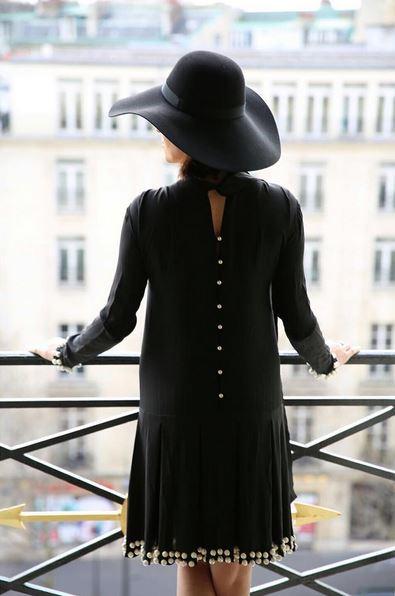 Founder JOLIEGAZETTE, Juliet Belkin in a dress by Anna K