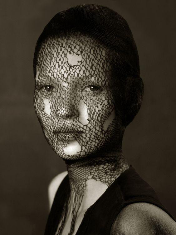 Kate Moss by Irvin Penn.