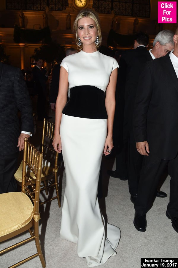 BEHIND FIRST LADY MELANIA TRUMP INAUGURATION BALL DRESS AND MORE ...