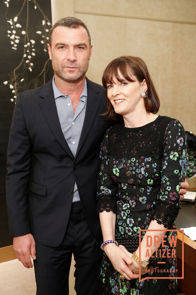 Actor Liev Schreiber and San Francisco PR maven Allison Speer