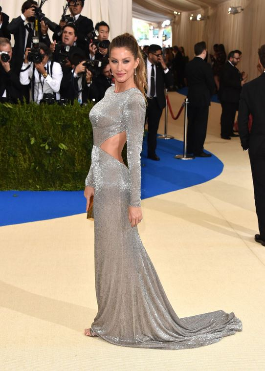 Gisele Bundchen, wearing Stella McCartney -