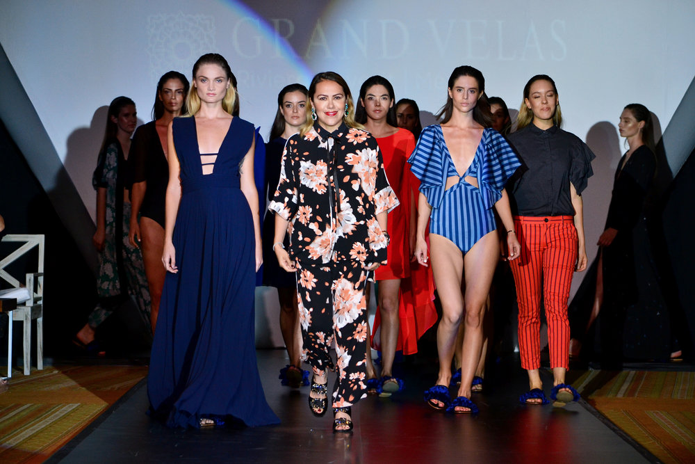 Fourth annual Fashion Popup and Runway show featuring Mexican Designer Raquel Orozco as Grand Velas Riviera Nayarit continues commitment to Showcase Mexico's Art + Fashion.