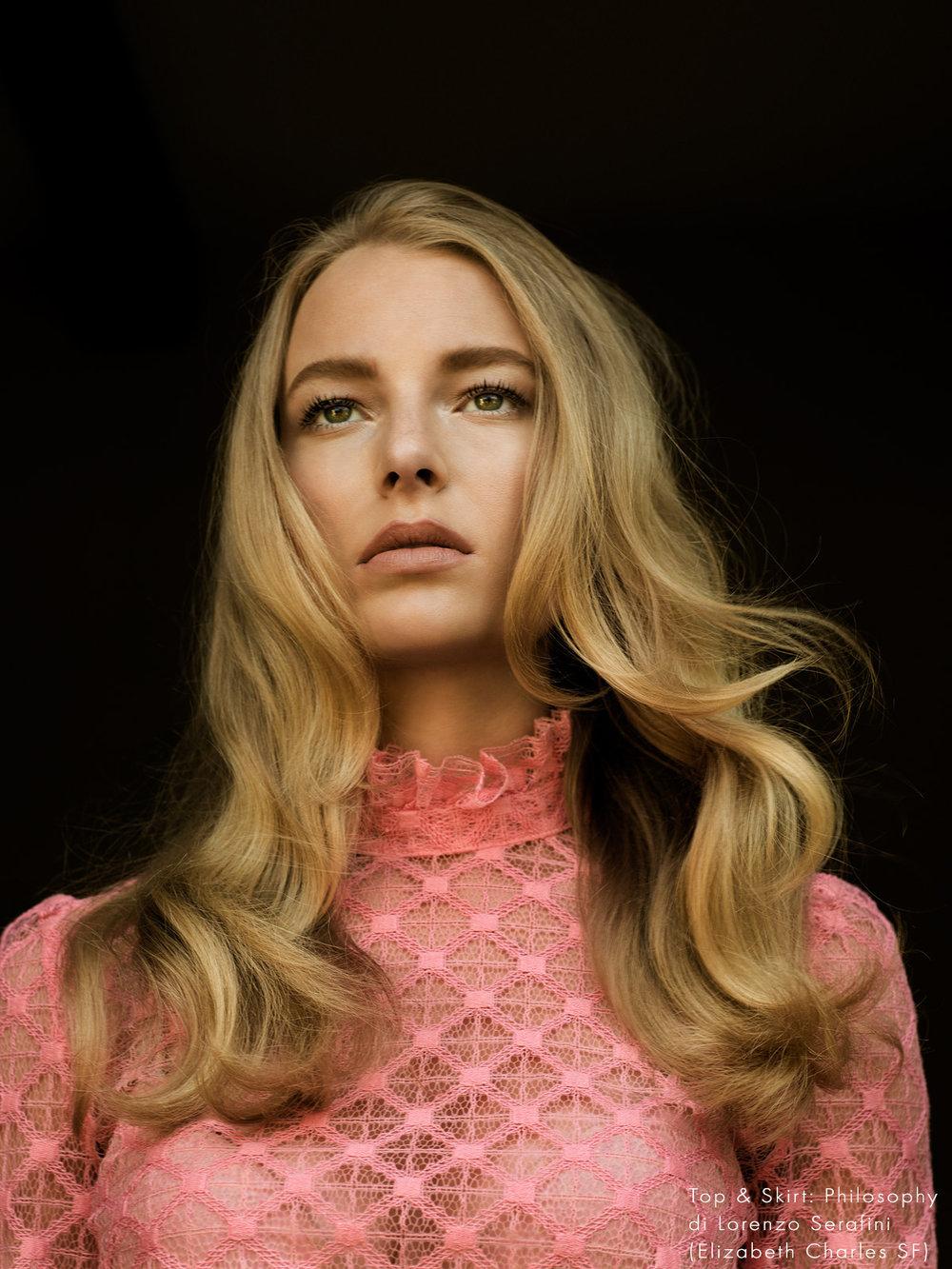 Danielle Lauder shot by Amaris Granado Jolie Gazette
