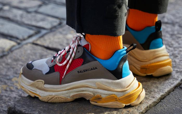Balenciaga Triple S 2 0 White Men s Fashion Men s Footwear