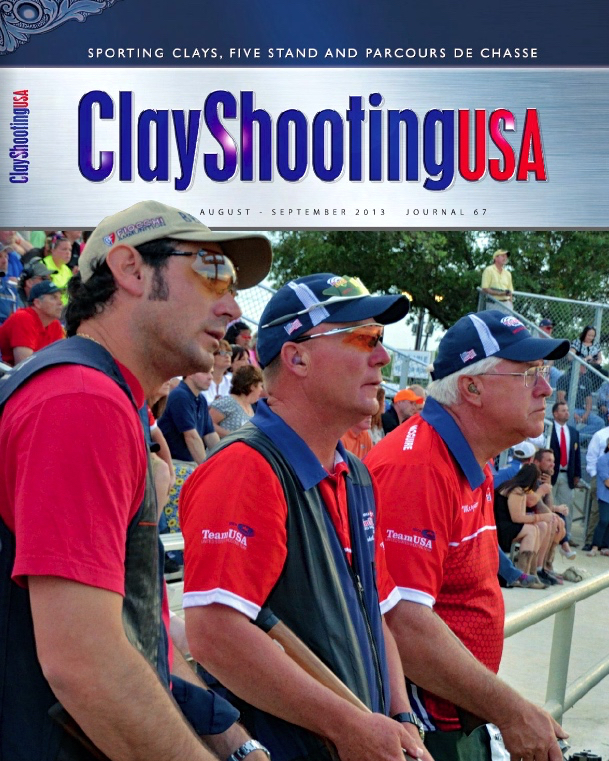 The 5-Stand at Pursell Farms , Clay Shooting USA Magazine, Page 96.