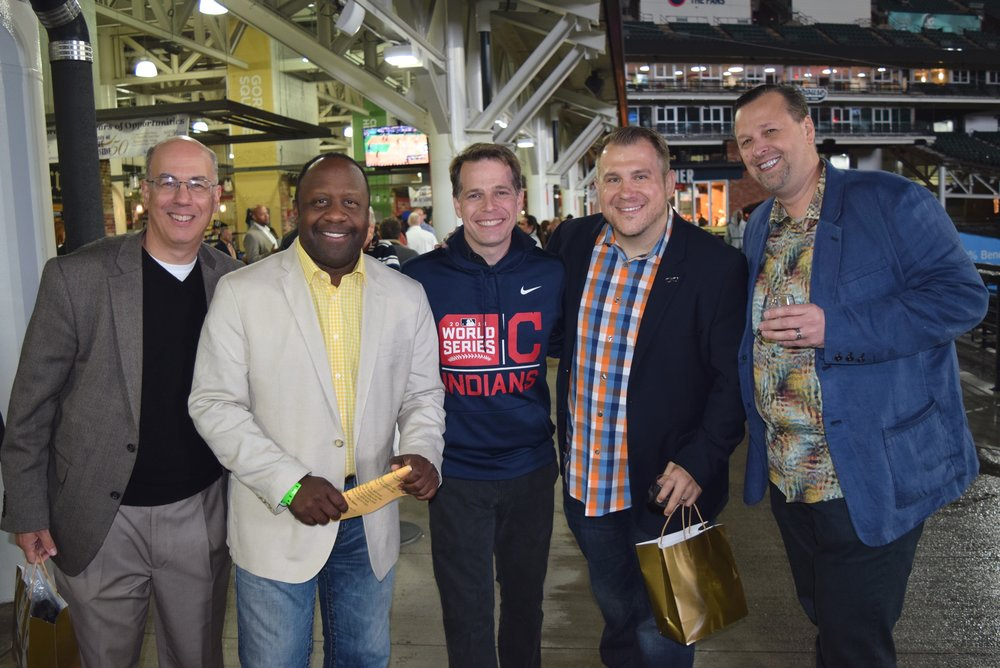 Grapes & ale Hosts - Marc Bona, Kenny Crumpton, Todd Meany, Jeremiah Widmer, & Chip Kullik