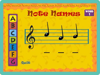 Music Games For Kids >> Online Music Games Chambers Music Studio