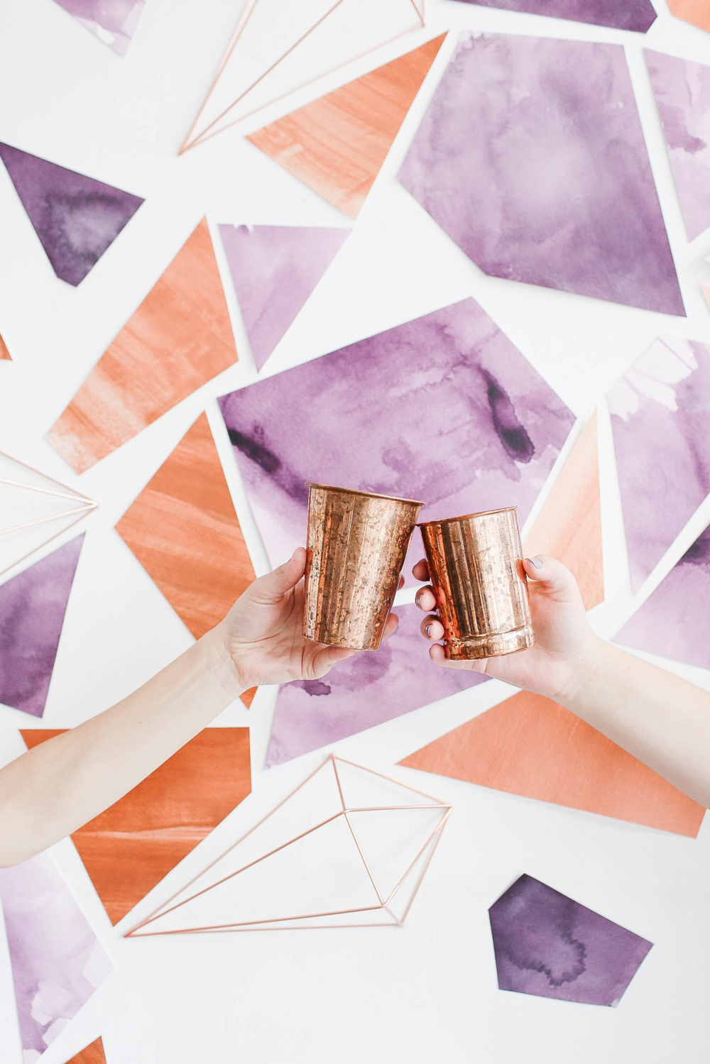 Copper boho cheers