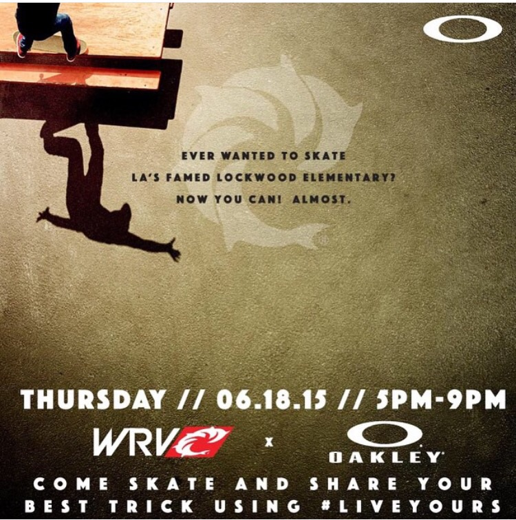 Oakley is sending a picnic table from LA around the world and it's going to be in Virginia Beach this Thursday ! Go check it out and get some free goodies🎯