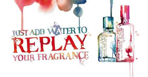 Stina Persson / REPLAY Fragrance Campaign