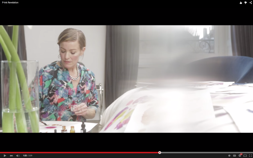 Stina Persson / Veuve Clicquot P-Ink Revelation Campaign