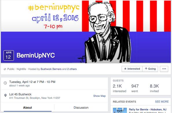 JEFFREY FULVIMARI // #BERNINUPNYC  & GOTV