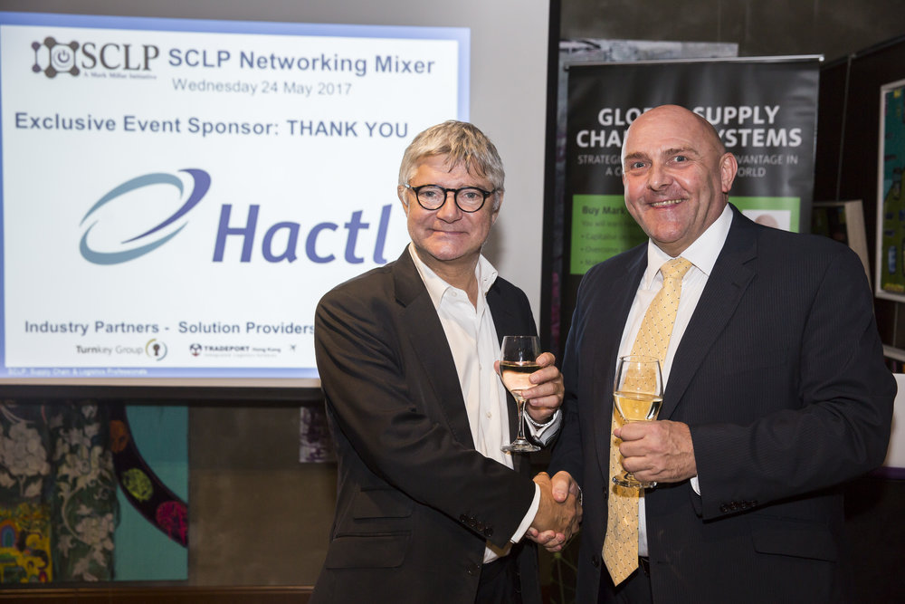 Mark Whitehead, Hactl Chief Executive and Mark Millar, SCLP Founder
