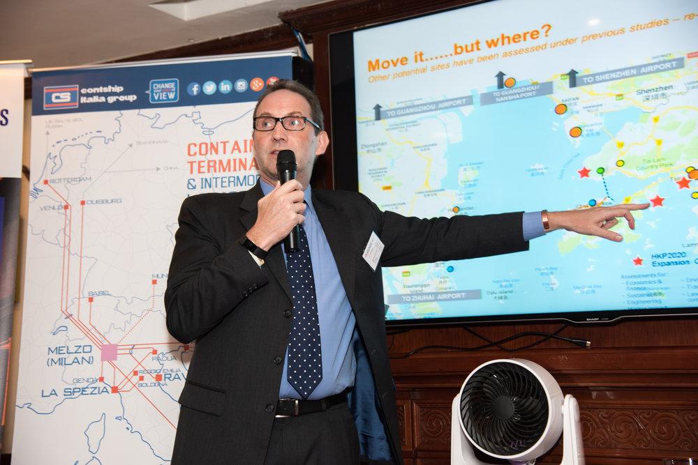Guest Speaker - Dr Jonathan Beard, Head of Transportation & Logistics, Asia, Arcadis
