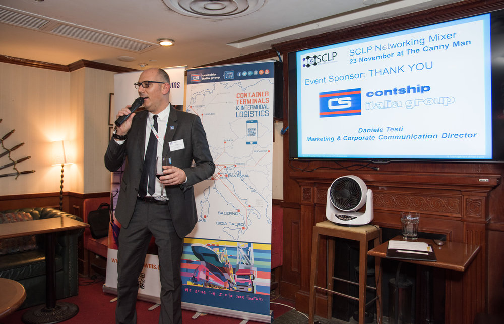 Daniele Testi, Marketing & Coporate Communication Director, Contship italia