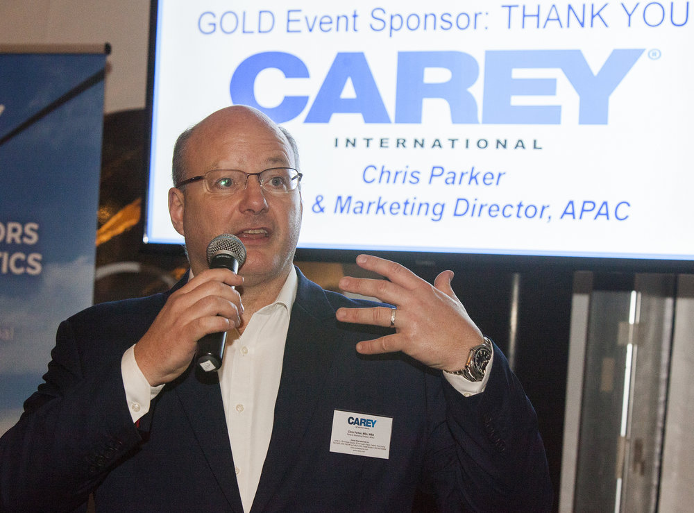 Chris Parker, Sales & Marketing Director, APAC, Carey International