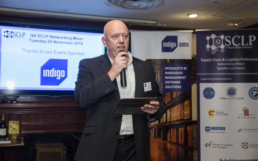 Mike Hill , Chief Executive Officer, indigo