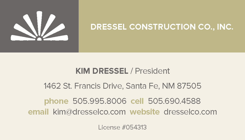 DRESSEL CONSTRUCTION