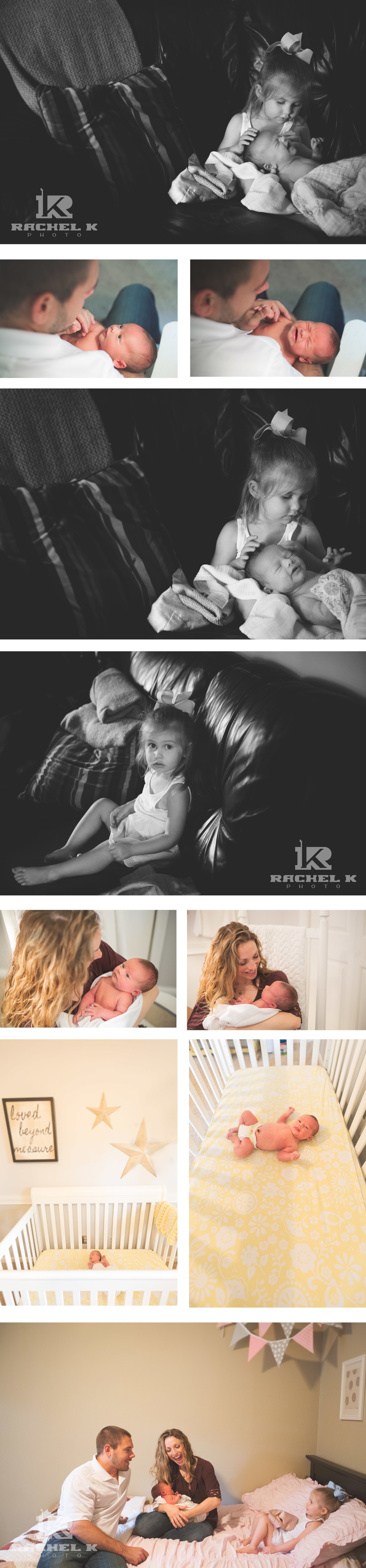 Knoxville photographer Rachel K Photo newborn session