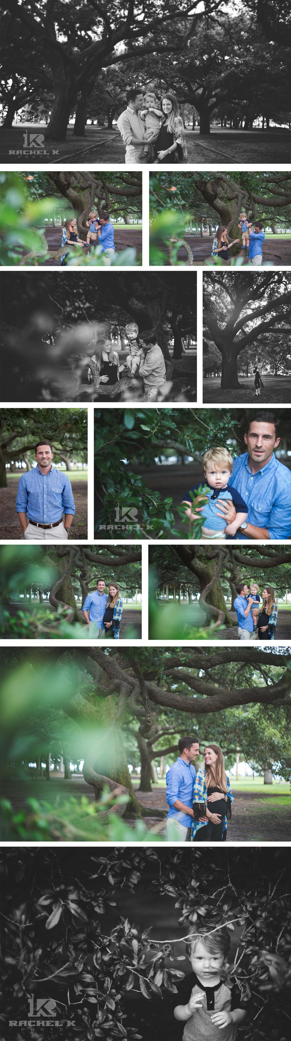 Rachel K Photo maternity session in Charleston