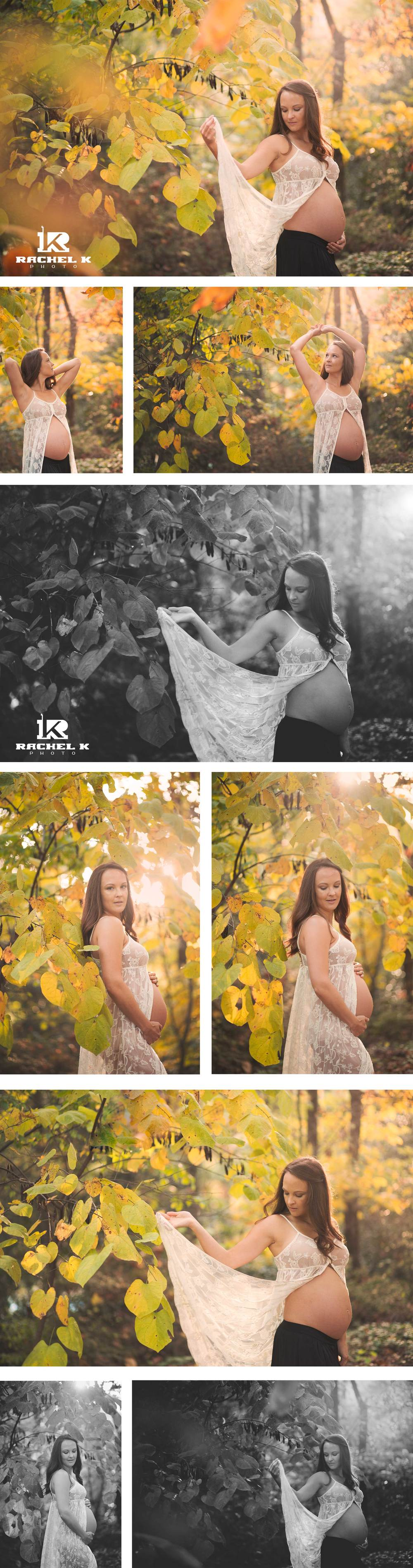 Fall outdoor maternity session in Virgina