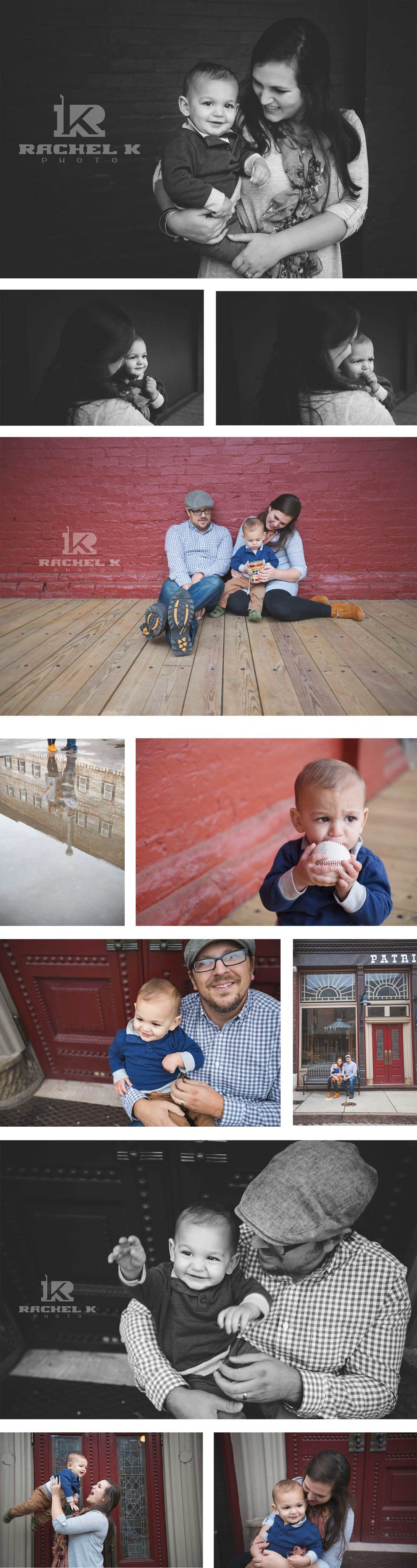 Downtown Knoxville one year old session