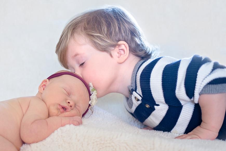 Newborn and toddler photo