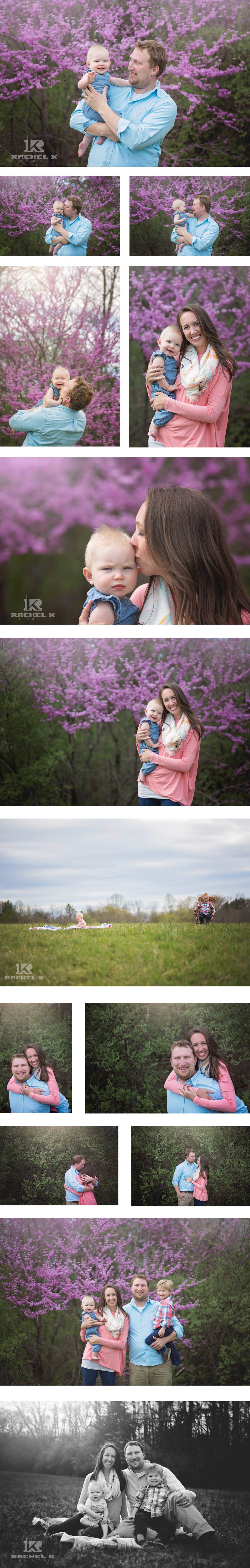 Northern Virginia on location family session