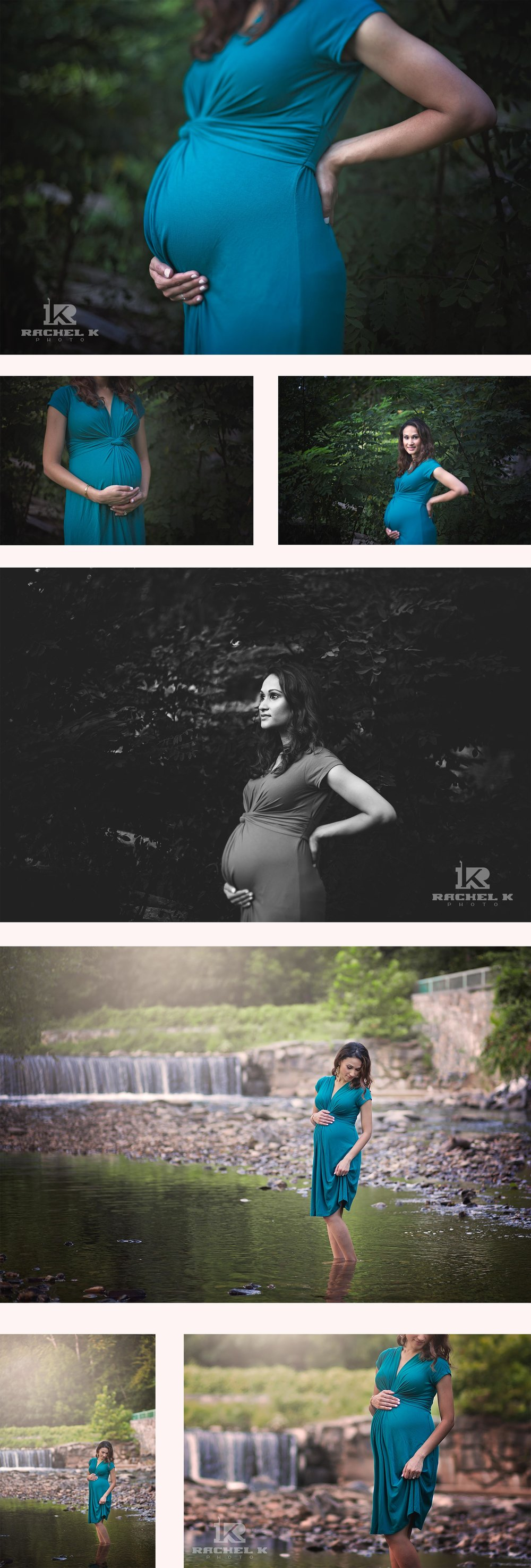 Maternity session with dogs by Rachel K Photo