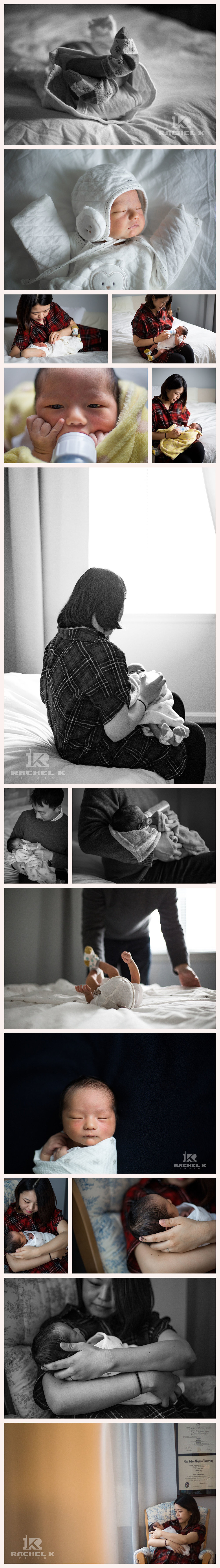 Northern Virginia's best newborn lifestyle photographer Rachel K Photo