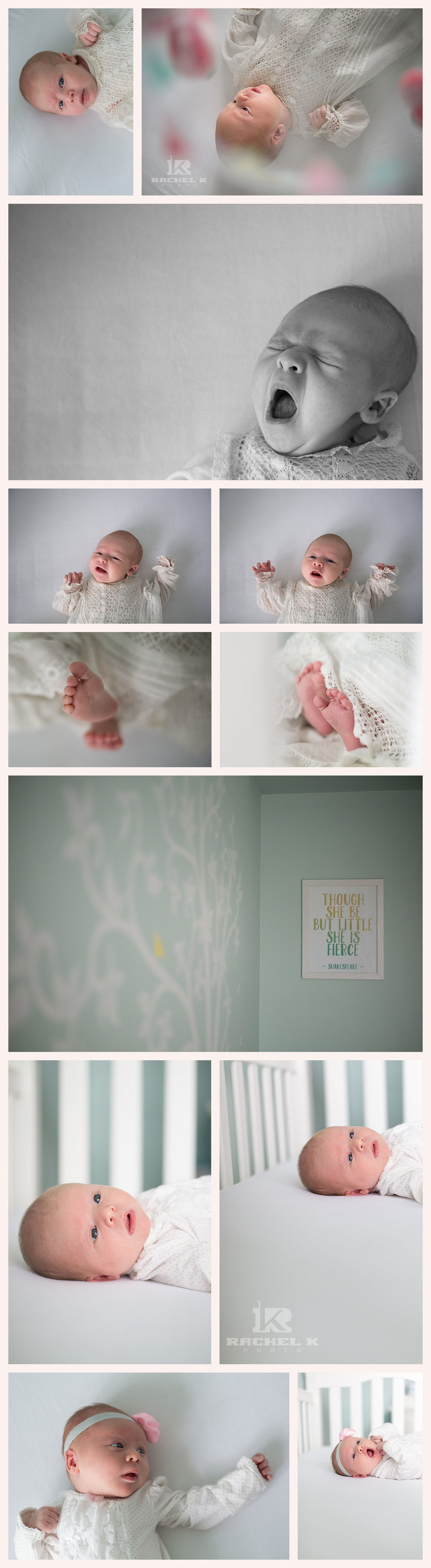 Northern Virginia newborn lifestyle session by Rachel K Photo