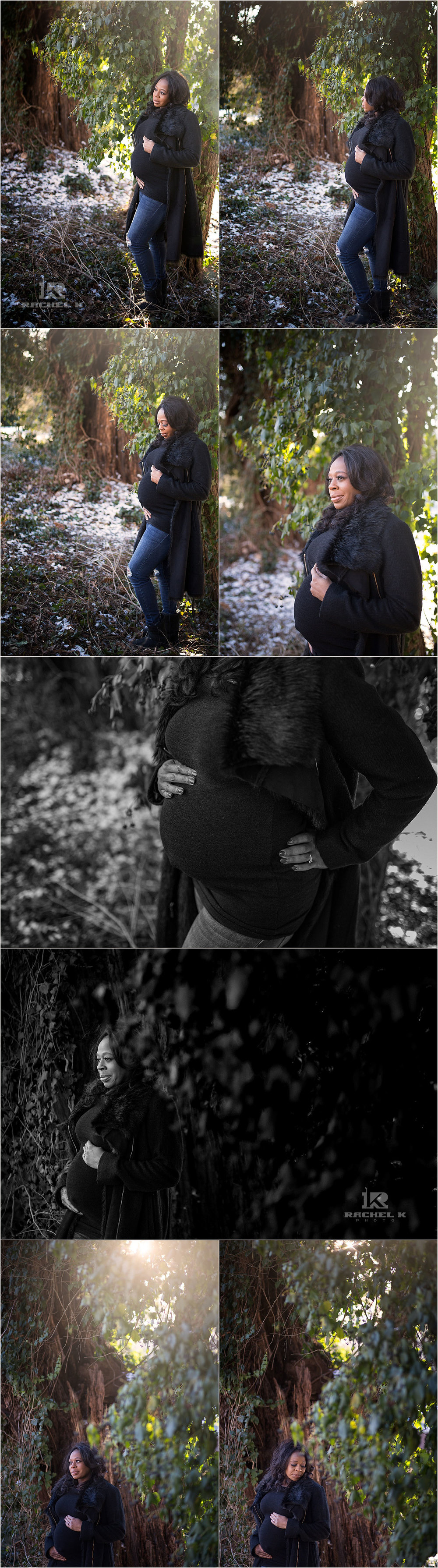 DC Indoor maternity session by Rachel K Photo