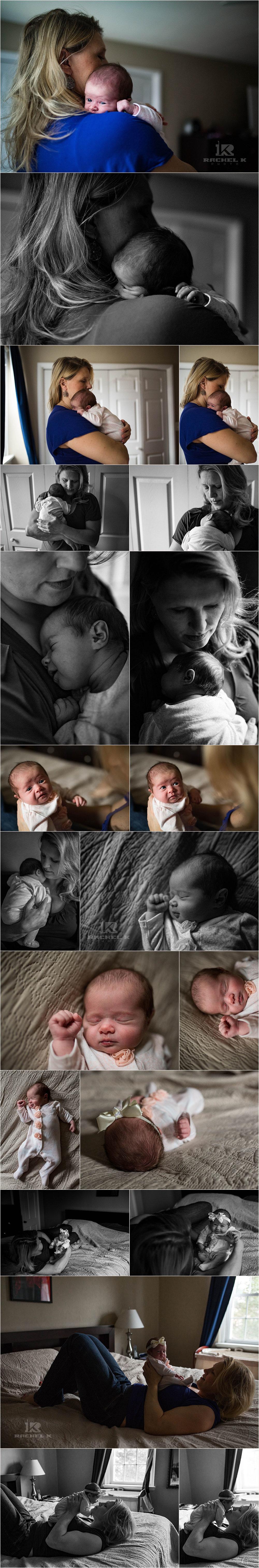 Arlington, VA Newborn lifestyle session by Rachel K Photo